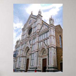 Pôster Basílica de Santa Croce