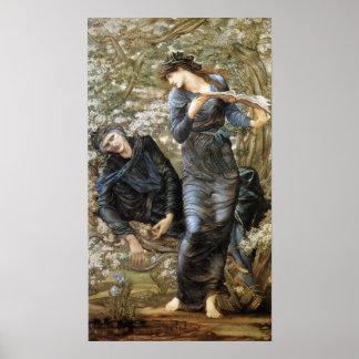 Poster Beguiling de Edward Burne-Jones de Merlin