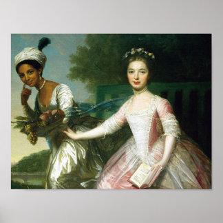 Poster Belle de Elizabeth do Dido e senhora Murray