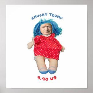 Pôster Boneca de Chucky Donald Trump
