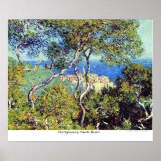 Poster Bordighera por Claude Monet