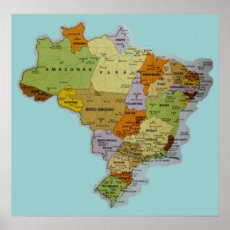 Poster brasileiro do mapa