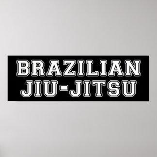 Pôster Brasileiro Jiu Jitsu