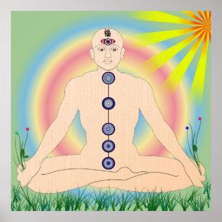 Poster budista pôster