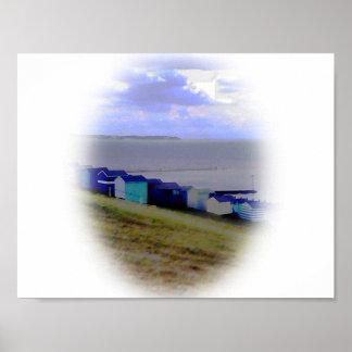 Pôster Cabanas da praia