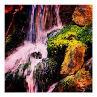 Pôster Cachoeira natural