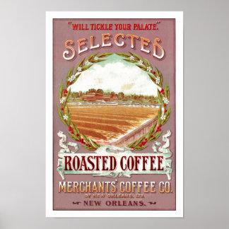 Poster Café Roasted selecionado
