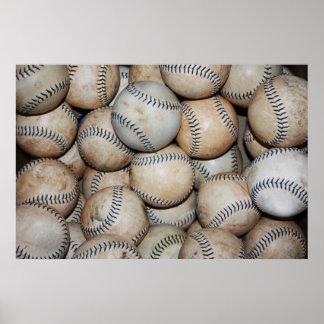Poster Caixa dos basebol