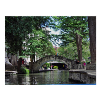 Poster Caminhada do rio de San Antonio