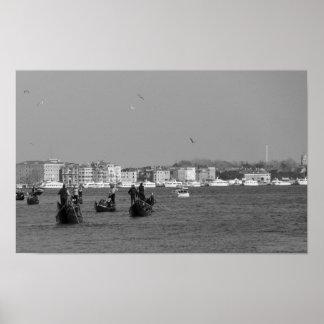 Pôster Canal grande em Veneza