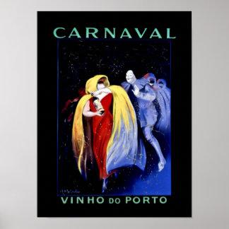 "Poster ""Carnaval "" do art deco de Leonetto Pôster"