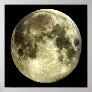 Pôster Cartaz da Lua cheia