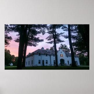 Pôster Casa de carruagem da mansão de Edith Wharton