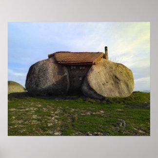 Poster Casa de pedra