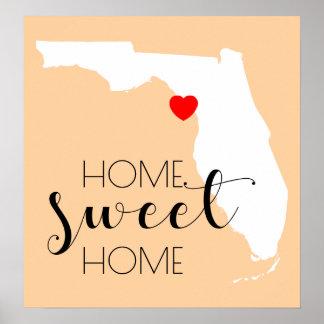 Poster Casa doce Home | Florida