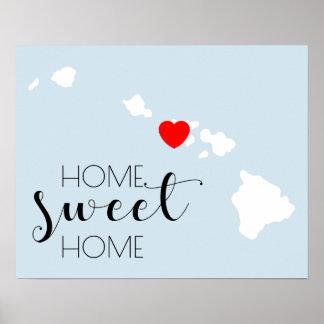 Pôster Casa doce Home | Havaí