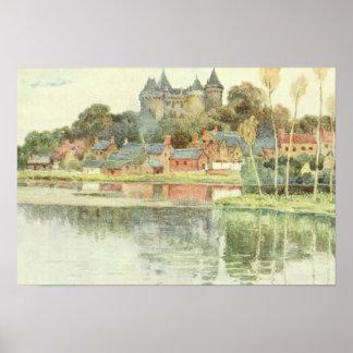 Pôster Castelo de Brittany France