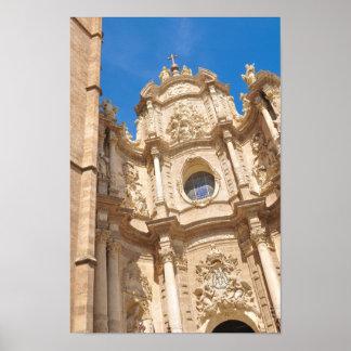 Pôster Catedral em Valência, espanha