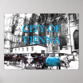 Poster Cavalos de carruagem