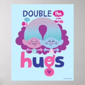 Poster Cetim dos troll | & Chenille - os os abraços dobro