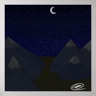 Poster Céu da montanha