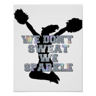 Pôster Cheerleaderes nós faísca