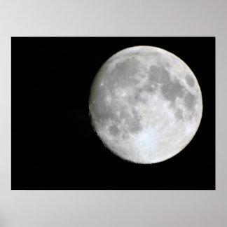 Pôster Cheia lua