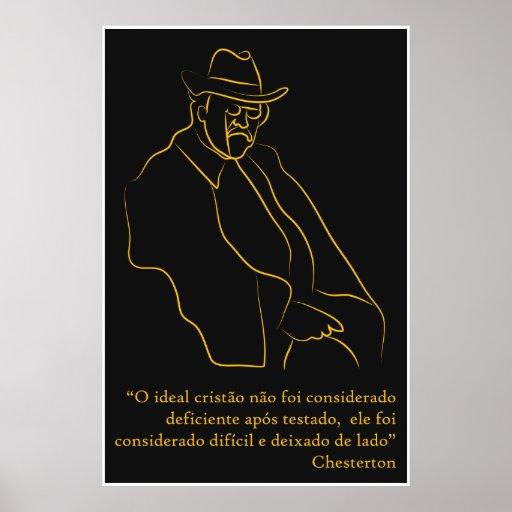 "Poster ""Chesterton"""