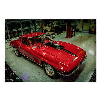 Poster Chevrolet Corvette 1967 L88