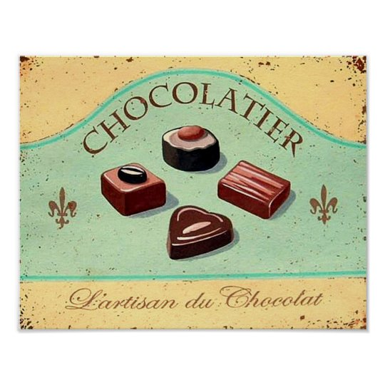 POSTER CHOCOLATIER
