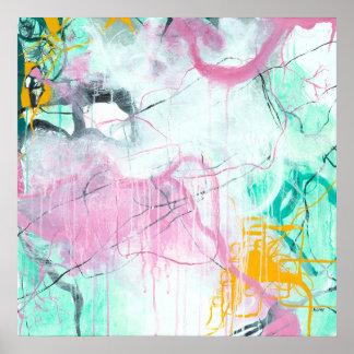 Poster Chrystarium - arte quadrada do expressionism