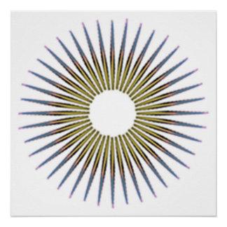 Pôster círculo