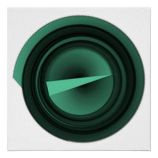 Pôster círculo verde