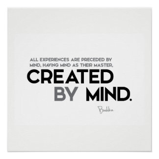 Pôster CITAÇÕES: Buddha: Criado pela mente
