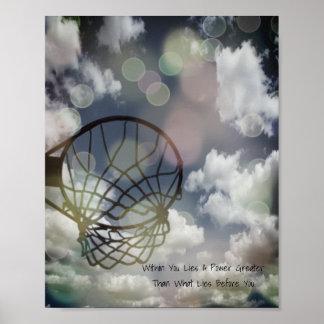 Poster Citações inspiradores da imagem do Netball