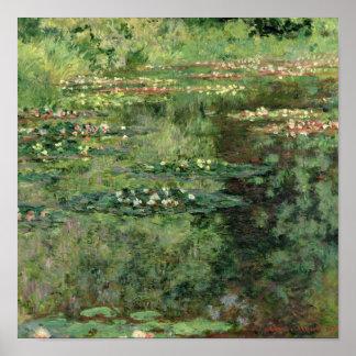 Poster Claude Monet | a lagoa de Waterlily