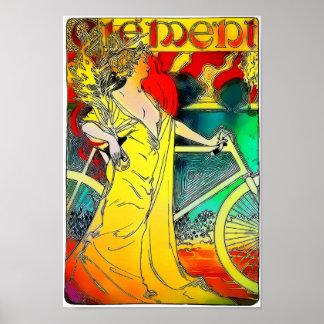 Poster clemente da propaganda do vintage das