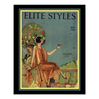 Poster Cobrir 16 x 20 dos estilos da elite do art deco