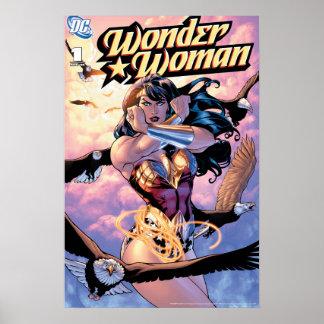Pôster Cobrir cómico #1 da mulher maravilha
