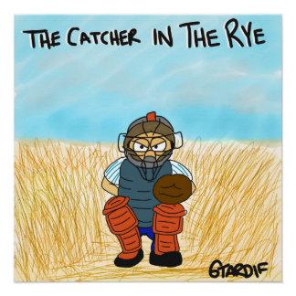 Pôster Coletor no poster do basebol de Rye