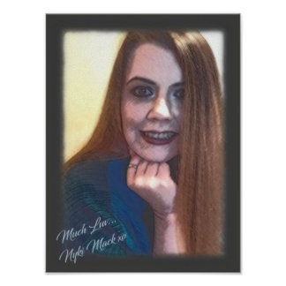 Poster Collectible 2 do retrato de Nyki Mack