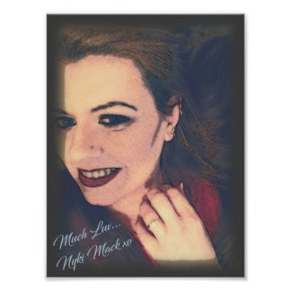 Poster Collectible do retrato de Nyki Mack