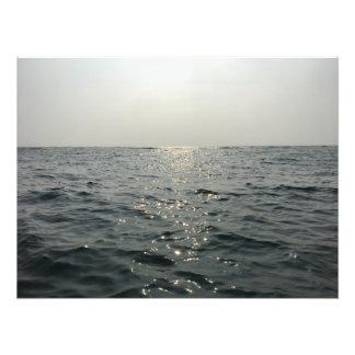 Poster com mar azul impressão de foto
