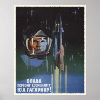 Poster com propaganda do programa especial de URSS