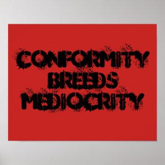 Poster Conformidade