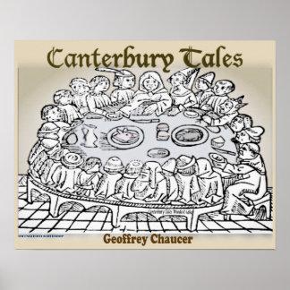 Poster Contos de Canterbury