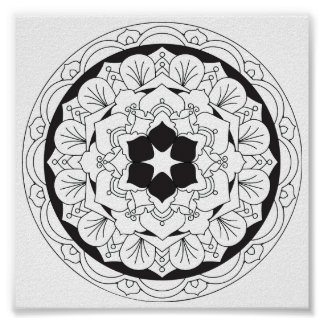 Poster Cor-Seu-Própria mandala floral 060517_4