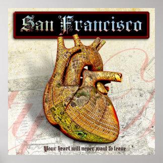 Pôster Coração perdido em San Francisco