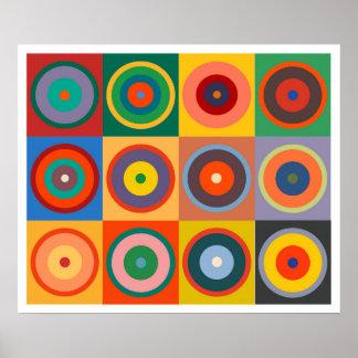 Pôster Cores da arte Op #24 Kandinsky