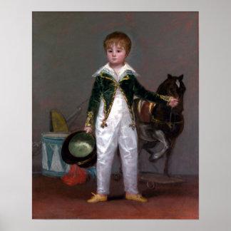 Pôster Costela y Bonells de Francisco de Goya José